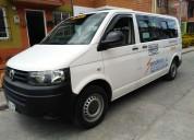 Vendo camioneta volkswagen t5 diesel modelo 2013