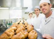Auxiliar de panadería repostería y pastelería