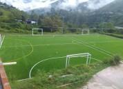 Gramas sintéticas futbol y paisajismo  - grama spo