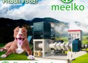 Meelko extrusora para pellets alimento mked135b