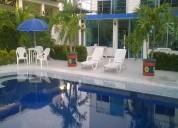 Cc924 casa con piscina acomodación 10 personas.