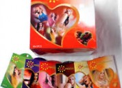 Venta de condones con sabor por unidad o paquete