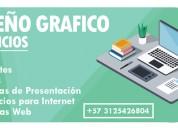 Servicio de diseño grafico-volantes-logos-paginasw