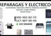 Reparacion de hornos importados cel 3003028272