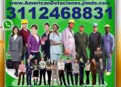 ⭐ americana de dotaciones, uniformes, camisas, blu