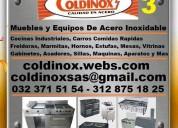 ⭐ coldinox, cocinas industriales, carros comidas r
