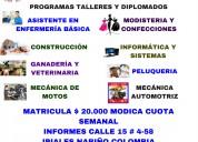 Programas talleres y diplomados