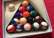 Set caja bolas pool billar nuevas envios