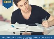 Clases de química, biología, química orgánica