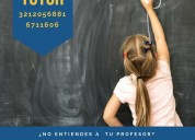 Asesoría en rendimiento escolar clases particulare