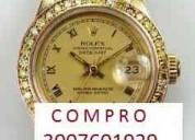 Compro joyaes en oro y relojes finos