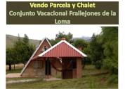 Vendo parcela chalet vacacional frailejones de la loma en bucaramanga