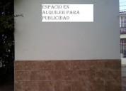 Alquiler de espacio para publicidad en cúcuta