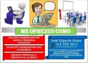 Busco empleo profesional tecnologo con especializacion en bucaramanga