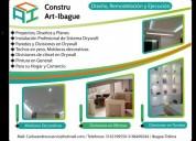 Ofrezco servicios de instalacion de drywall superboard decoracion en ibagué