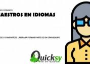 Doy clases de Ingles a domicilio para ninos y adolescentes en Bogotá