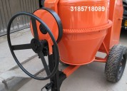 Mezcladora de concreto de un bulto