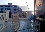 Alquilo apartamento amoblado frente al mar - 3 hab