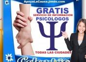 ⭐ gratis, psicologos, psicologo, psicologa, fundac