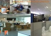 Reubicacion y traslado de oficina