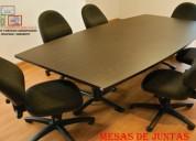 FabricaciÓn de mesas de juntas