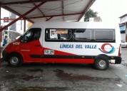 Buseta renault master 3 16 pasajeros mas conductor