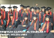 Bachillerato virtual matriculas wathsap 3013911861