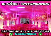 Alquilo djs sonido video animacion bodas eventos