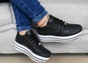 Zapato doble piso dama