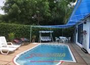 Cc923 casa para 10 personas con piscina