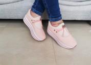 Zapato doble piso lazo dama