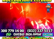 Fiestas infantiles en cali + recreacion + luces +