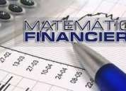 MatemÁticas financieras,clases particulares