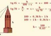 Trigonometria,clases particulares detrigonometria