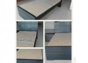 $360.000 cama 1mt x 1.90mt, un nochero y colchón.