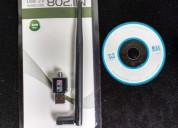 Adaptador usb wifi con antena