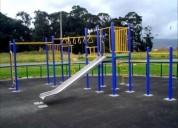 parques infantiles, todo tipo.
