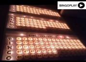Tablero de bingo electrico