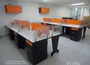 Muebles y divisiones oficina fabricamos instalamos