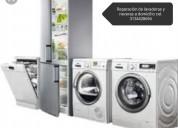 Reparación de lavadoras y neveras a domicilio