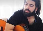 Clases particulares de guitarra y lenguaje musical a domicilio para ninos jovenes y adultos en itagu