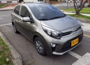 Se vende espectacular kia picanto 2018 color gris
