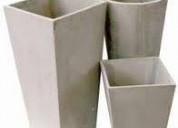 Macetas , de cemento construmerca