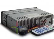 radio para carro con bluetooth usb sd aux nuevos con garantia audio - electrónica