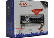 Radio para carro entrada usb sd auxiliar control 6 meses de garantia audio - electrónica