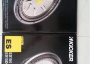 Bajos kiker es 15 pulgadas audio - electrónica