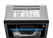 Radio para carro android 7 1 bluetooth gps 2 usb 50w x4 wifi cartech audio - electrónica