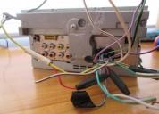 Radio pioneer con pantalla tactil audio - electrónica