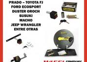 Seguro para llanta de repuesto de camionetas accesorios - repuestos