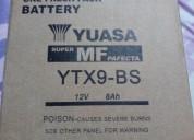 Bateria yuasa nueva accesorios - repuestos para motos